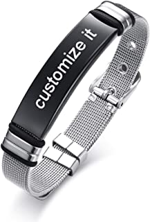 custom nameplate belt buckles