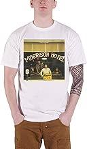 The Doors T Shirt Morrison Hotel Album Cover Band Logo Official Mens White