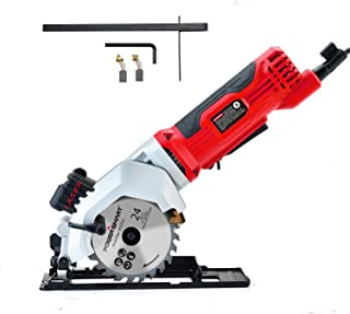 PowerSmart PS4005 4Amp 3500RPM Mini Circular Saw with Laser Guide