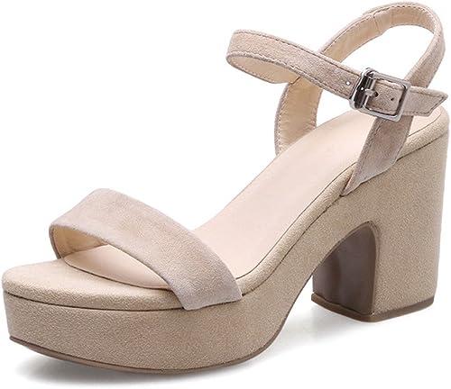 XZGC XZGC XZGC Frauen Schuhe Schlitz Krawatte mit Sommer Sandalen  Bis zu 60% Rabatt