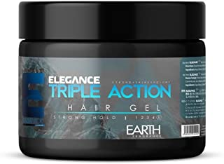 Elegance Strong hold Hair Gel - Earth Fragrance 500 ml
