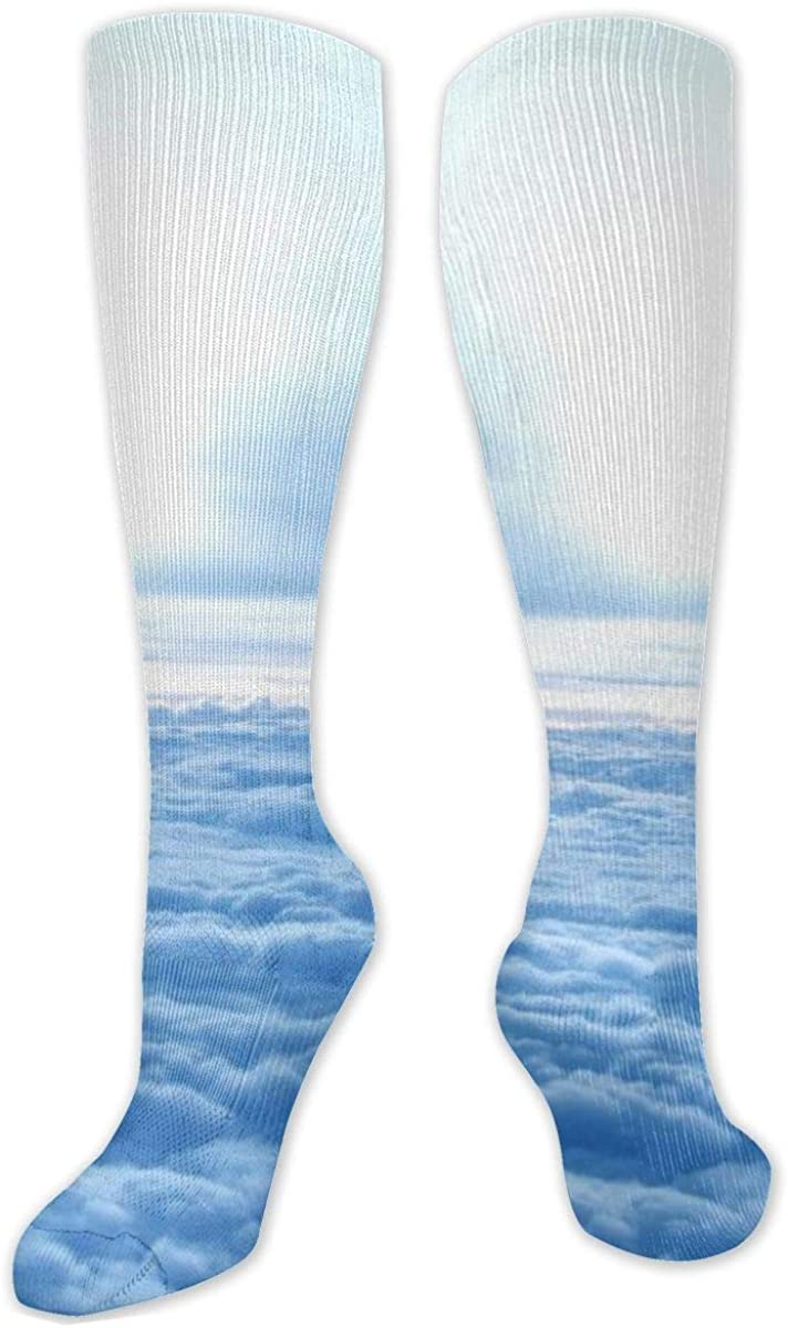 On The Cloud Knee High Socks Leg Warmer Dresses Long Boot Stockings For Womens Cosplay Daily Wear