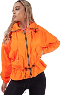 Momo&Ayat Fashions Ladies High Neck Hooded Festival Jacket AUS Size 8-14