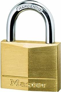 Master Lock Solid Brass 30mm Padlock 4-Pin - Keyed Alike x 4