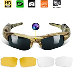 Toughsty 16GB Spy Camera Sunglasses Eyewear Outdoor Action Video Recording Camcorder