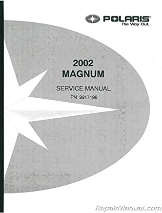 Haynes Service Manual Polaris Magnum 325 2x4 4x4 2000 02 425 2x4 4x4 1998 Ebay