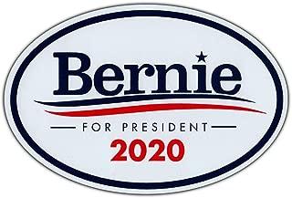 Oval Magnet - Bernie Sanders For President 2020 - Magnetic Bumper Sticker - 6