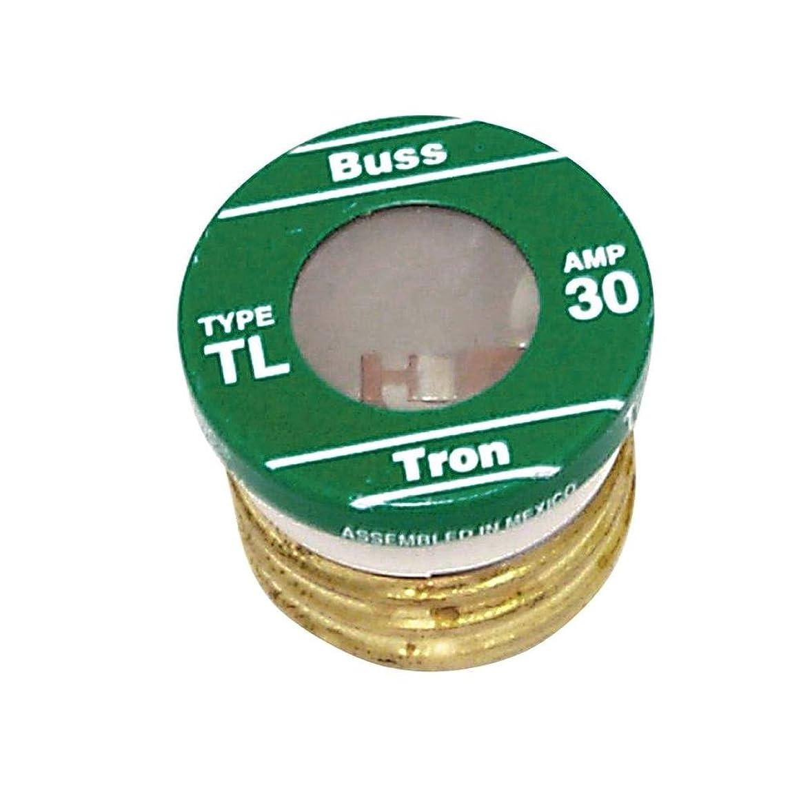 私セール省略するBussman tl-30pk4?30?Amp TL Edisonプラグ時間遅延ヒューズ4カウント