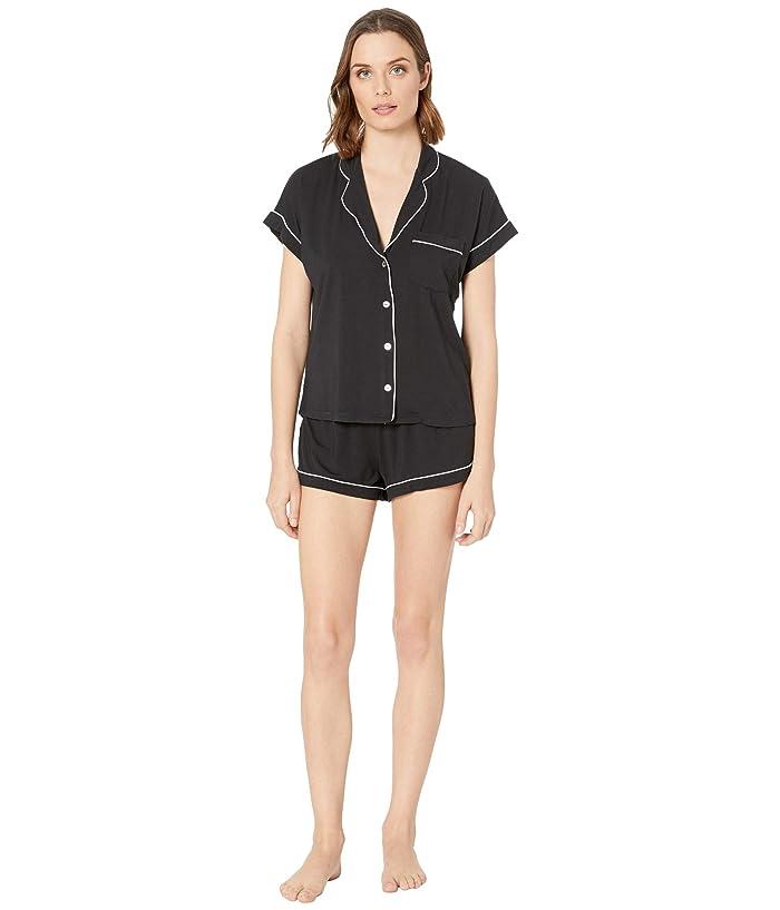 UGG  Amelia Sleep Set Knit (Black) Womens Pajama Sets