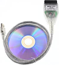 DIAGKING Mini Vci J2534 TIS Techstream Diagnostic Cable for Toyota Firmware V1.4.1