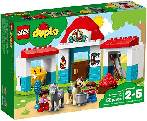 LEGO Duplo 10868 - Pferdestall, Spielzeug für das...