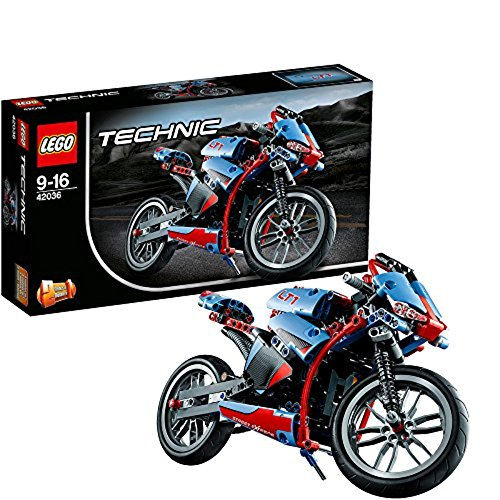 LEGO Technic 42036 - Straßenmotorrad