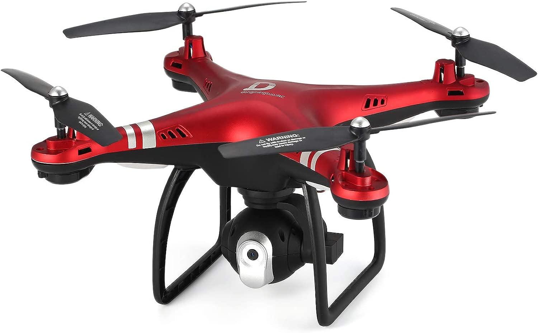 FairytaleMM X8 RC Drone 2.4G Teletelecamera Regolabile FPV RC Drrone 18mins Volo Altitudine Tenere Rosso