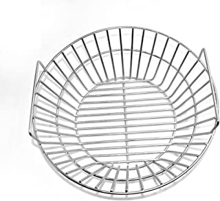 Onlyfire Stainless Steel Charcoal Ash Basket Fits for Large BGE, Kamado Joe Classic