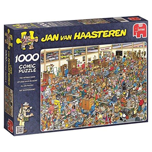 Jumbo - Puzzle The Antique Show, 1000 Piezas (01886)