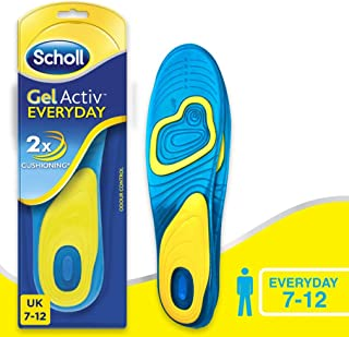Scholl GelActiv Insole Everyday (Men), 1 Count