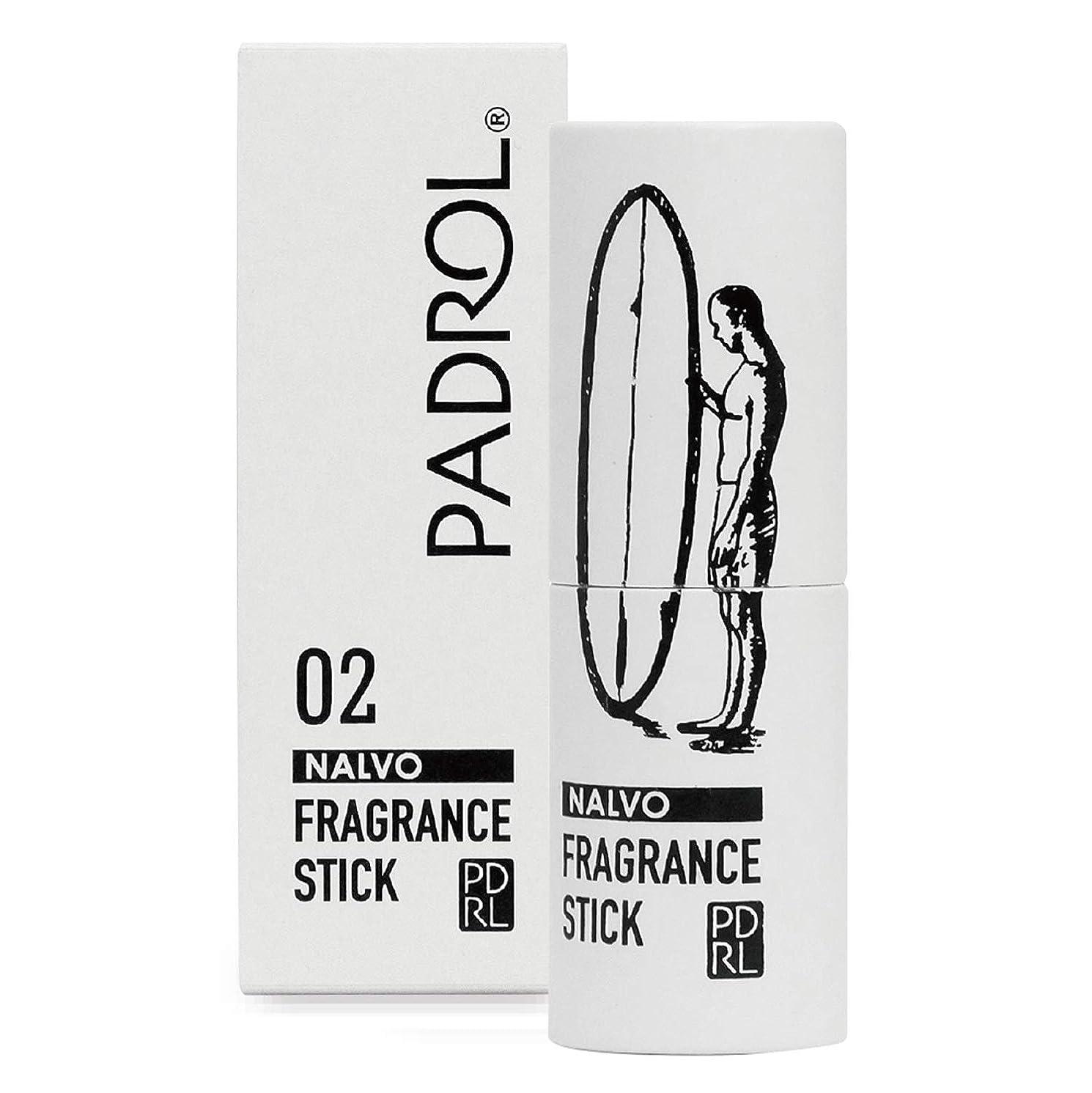 時間厳守似ているここにノルコーポレーション 練り香水 PADROL(パドロール) フレグランススティック レモンの香り PAD-3-02