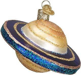 Old World Christmas Celestial Glass Blown Ornament (Saturn)
