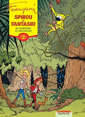 Spirou et Fantasio, l'intégrale tome 2 : De Champignac au Marsupilami
