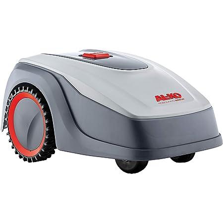 AL-KO Robolinho 119999 Robot cortacésped 800 W, 50 W, 20 V, Gris, m² con Control Inteligente por aplicación