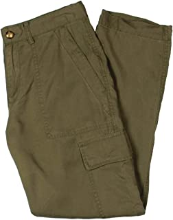 LAUREN RALPH LAUREN Womens Banssen Cargo Military Pants