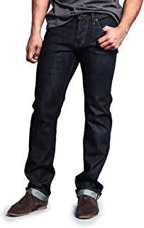 Men's Straight Fit Selvedge Jeans M527SV (Made in USA)