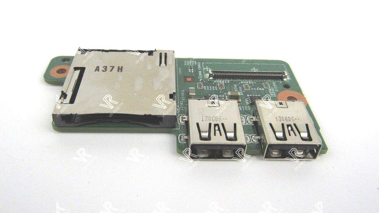 7V6G2 - Dell Inspiron 15z (5523) USB / SD Card Reader IO Circuit Board - 7V6G2