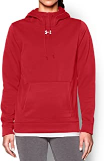 Under Armour Women's Storm Armour Fleece Hoodie, Red, Small