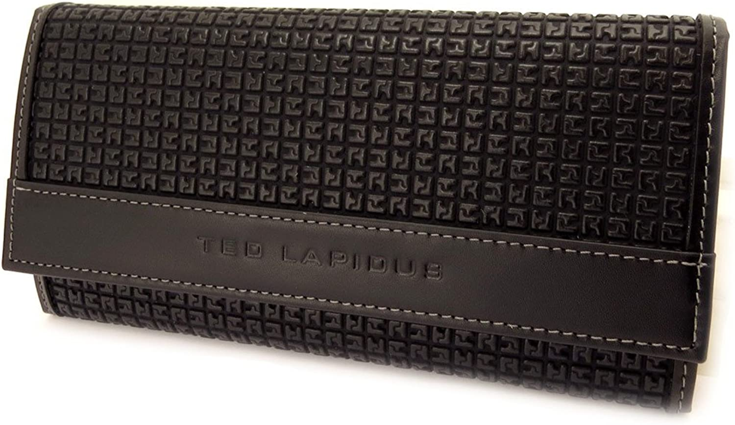 Wallet card holder 'Ted Lapidus' black.