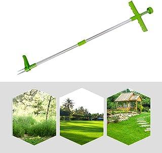 QASIMOF - Extractor de malas hierbas, telescópico, herramienta de desherbado, manual de arrancador de malas hierbas, herra...