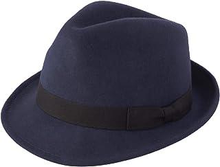 フェルトハット 中折れ 帽子 メンズ レディース 春 秋 冬 ウール ハット