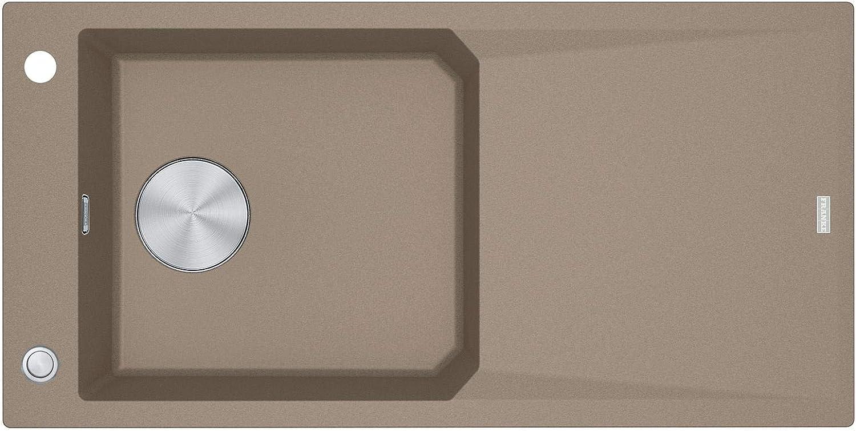 Franke FXG 611-100 Cashmere - 114.0512.340 Granitspüle Exzenterbettigung