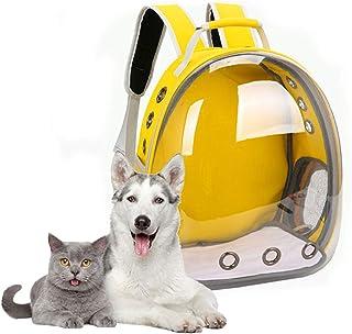 GreeSuit Sac à dos de transport pour chat - Grand sac à dos pour animal domestique - Sac de transport ventilé pour chat et...
