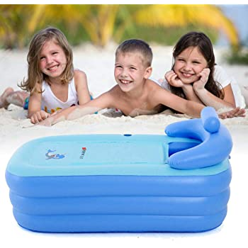 SENDERPICK - Bañera portátil de PVC para adultos, plegable ...