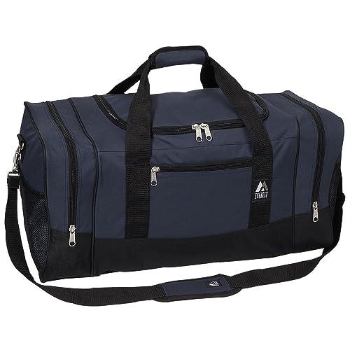 Everest Luggage Sporty Gear Bag - Large, Navy Black, Navy Black, 9fd9436ac7