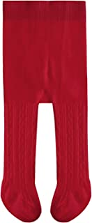 Cotton Infant Toddler Girls Tight Cable Knit Kids Pantyhose Solid Casual Baby Legging Pants