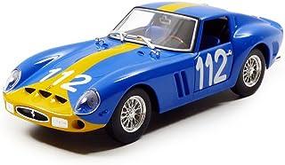 Ferrari 250 GTO Blue #112 1/24 Diecast Model Car by Bburago