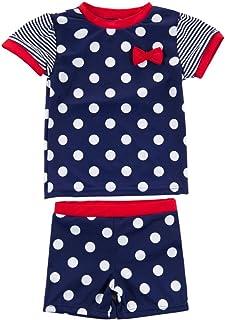 Wishere Kid Boy Girl Rash Guard Sets Two-Pieces Swimwear UPF UV Swimsuit