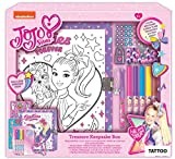 Innovative Designs Nickelodeon JoJo Siwa Keepsake Treasure Storage Box Craft Set for Girls