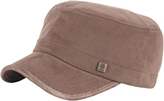 c7a43ca871f RaOn A150 Unisex Pre-curved Soft Suede Crack Point Army Cap Golf Cadet  Military Hat