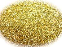 グリッターラメパウダー 選べる12色 0.5g 瓶入り (ゴールド)
