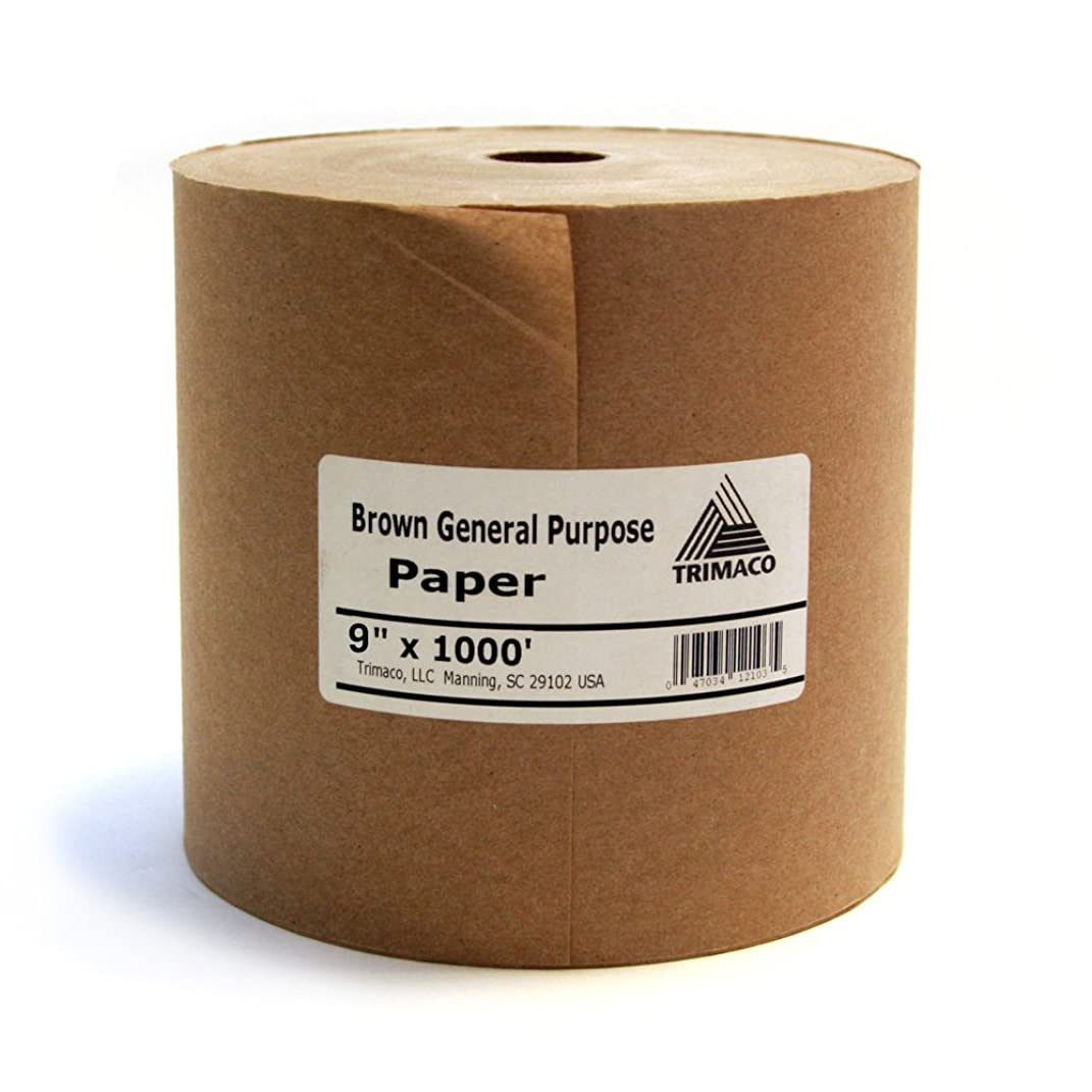 9-inch x 1000-feet Brown General Purpose Masking Paper