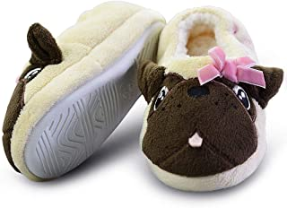 1a56fbe6d240 LA PLAGE Kid Comfortable Non-Skid Cozy Soft Unicorn House Slippers