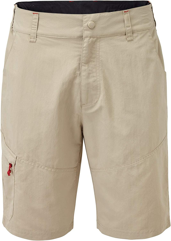 Gill Mens UV Tec Segeln Stiefelfahren Wassersport Shorts Khaki - UV-Sonnenschutz und SPF-Eigenschaften