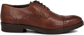 PAYMA - Zapatos de Vestir Hombre de Piel Hechos en España. Derby Oxford Blucher. Liso y con Puntera Grabada. con o Sin Cor...