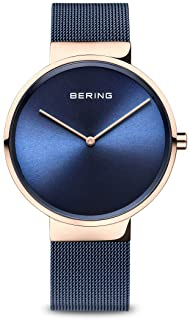 BERING Unisex Analogue Quartz Watch with Stainless Steel Strap 14539-367