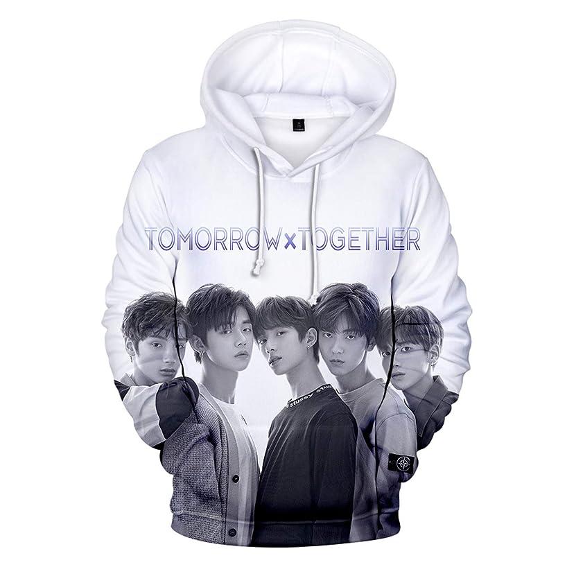 CHAIRAY Kpop TXT Hoodie 3D Digital Print Hoody Sweater TXT Members Pullover Jacket
