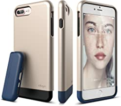 elago iPhone 7 Plus case [Glide][Champagne Gold / Jean Indigo] - [Multi-Option Case][Military Drop Test Certified][Sophisticated Shock Absorption] - for iPhone 7 Plus