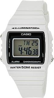 Casio Unisex Grey Dial Resin Band Watch [W 215H 7Av], Digital