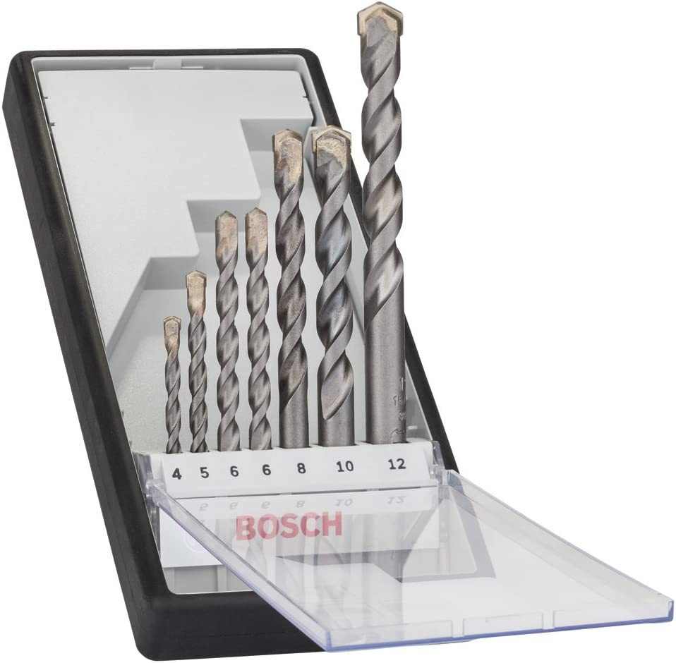 Bosch 2021 new 2607010545 Fresno Mall Concrete Drill Cyl-3 Silver Bit-Set